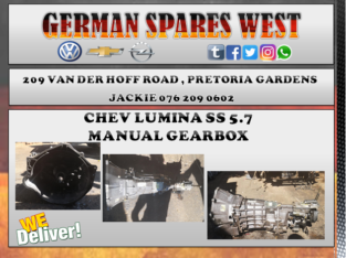 CHEV LUMINA SS 5.7 USED MANUAL GEARBOX FOR SALE