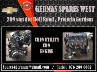 CHEV UTILITY CR9 ENGINE