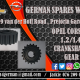 OPEL CORSA B 1.2 / 1.4 CRANKSHAFT GEAR