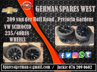 VW SCIROCCO WHEELS