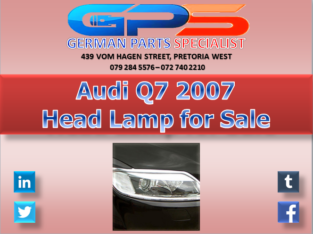 Audi Q7 Headlight for Sale