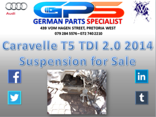 Caravelle T5 2.0 TDI 2014 Suspension for Sale