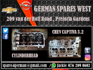 CHEV CAPTIVA 3.2 CYLINDERHEAD