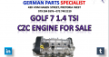 VW Golf 7 1.4 TSI CZC Engine for Sale