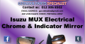 Isuzu MUX Electrical Chrome with Indicator Mirror