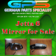 VW Jetta 6 Mirror for Sale