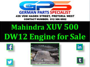 Mahindra XUV 500 DW12 Engine for Sale