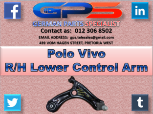 Polo Vivo R/H Lower Control Arm for Sale