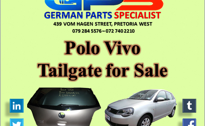 VW Polo Vivo Tailgate for Sale