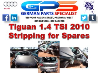VW Tiguan 1.4 TSI 2010 Stripping for Spares