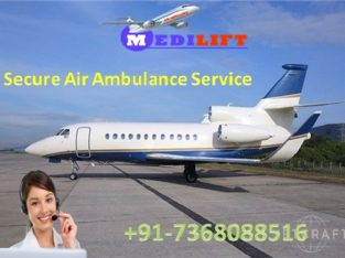 Get Medical Emergency Air Ambulance in Dibrugarh