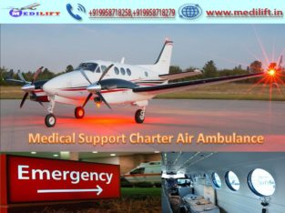 Pick Air Ambulance Services in Kolkata