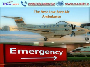 Best ICU Support Air Ambulance Services Ranchi