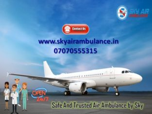 OBTAIN SKY AIR AMBULANCE SERVICE IN ALIGARH