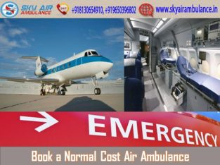 Air Ambulance in Bhubaneswar with Emergency Setup
