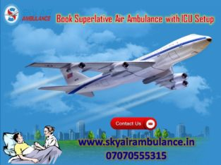 Take Sky Air Ambulance Service in Goa