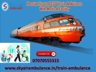 Utilize Train/Rail Ambulance Service in Mumbai
