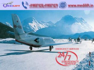 ICU Facility Air Ambulance Service in Gorakhpur
