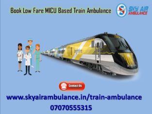 Use Sky Train Ambulance Service in Patna