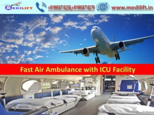 Hire Prominent Air Ambulance Service in Shillong