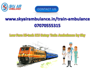 Pick Sky Train Ambulance in Bangalore at Low Budge