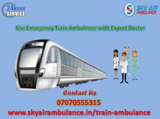 Obtain Sky Train Ambulance in Guwahati with Expert