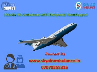 Use Sky Air Ambulance Service in Bilaspur