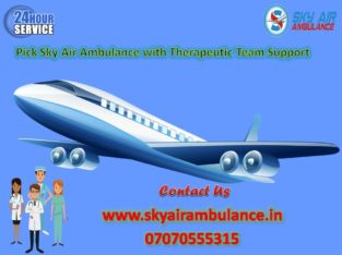 Select Air Ambulance in Jamshedpur at low cost