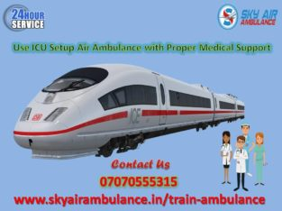 Select Train/Rail Ambulance Service in Guwahati