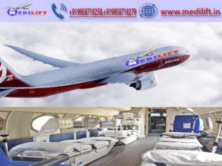 Get Classy Air Ambulance Service in Indore