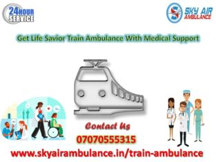Take Advanced Train Ambulance Service in Mumbai