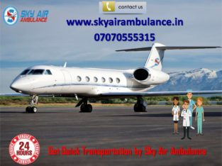 Receive Commercial Air Ambulance Service in Gwalio