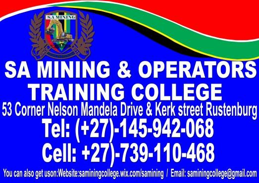 SA MINING COLLEGE-SCHOOL OF MINING KURUMAN