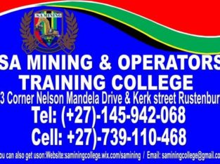 COURSES AND TRAINING IN SOUTH AFRICA NORTHERN CAPE