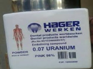 HOT HAGER WERKEN EMBALMING COMPOUND PINK POWDER