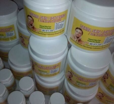 Derma skin lightening and bleaching products