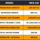 MCK-110 MOBILE CRUSHING & SCREENING PLANT