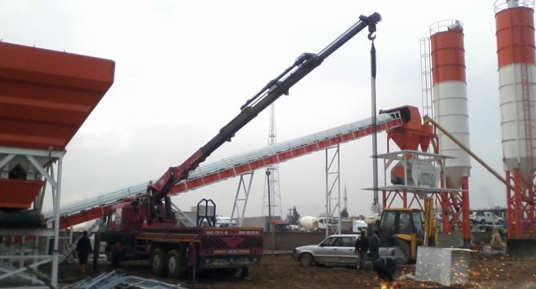POWERMIX-90 STATIONARY CONCRETE BATCHING PLANT