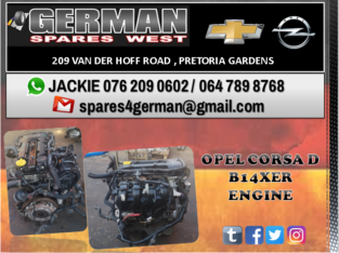 OPEL CORSA D B14XER ENGINE FOR SALE