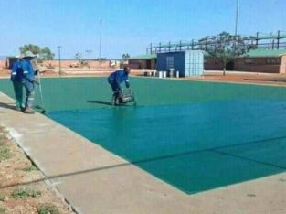 TAR SURFACES & TENNIS COURTS FROM R80