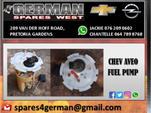 CHEV AVEO USED FUEL PUMP FOR SALE