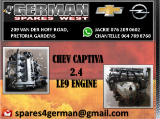 CHEV CAPTIVA USED LE9 ENGINE FOR SALE