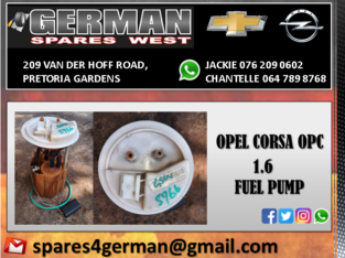 OPEL CORSA OPC 1.6 USED FUEL PUMP FOR SALE