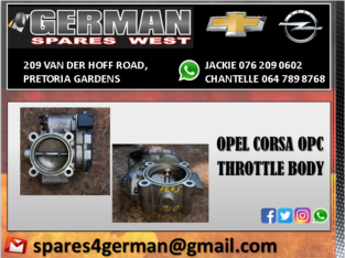 OPEL CORSA OPC USED THROTTLE BODY FOR SALE