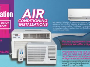 Air conditioning services 0790193598 &installation