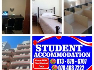 Student Accommodation in JHB for next year (2020)
