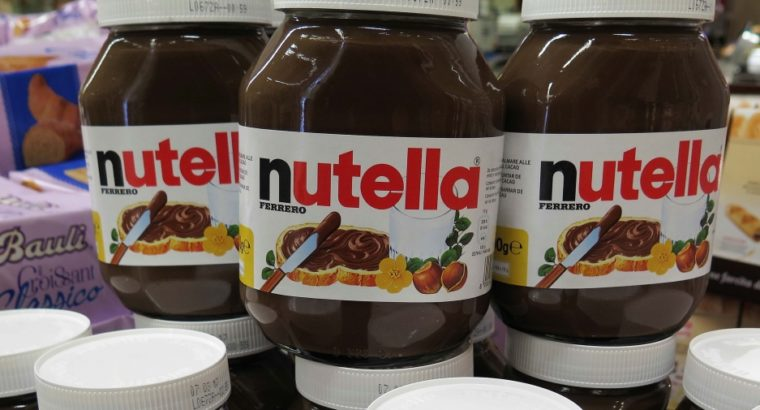 Nutella Chocolate, Confectionery and Coffee