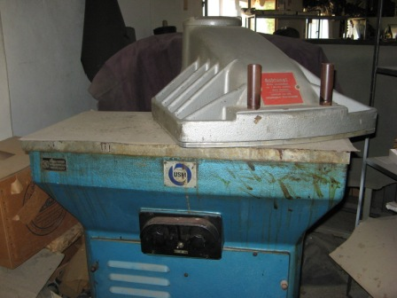 For sale fully equipped leather goods factory