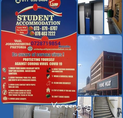 Student Accommodation in Vereeniging No Deposit
