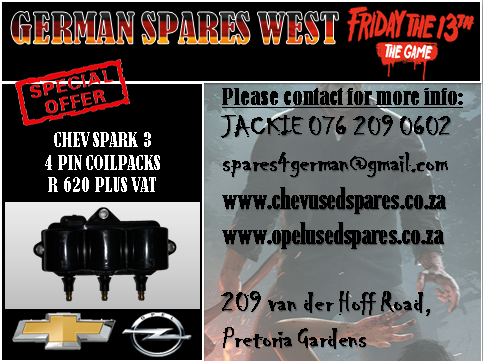 CHEV SPARK 3 4 PIN COILPACK FOR SALE